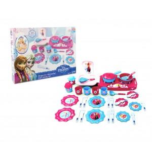 Playset cucina DISNEY FROZEN 8708 accessoriata di 35 utensili