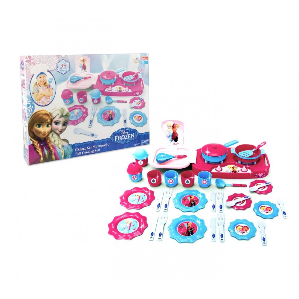 Playset cucina 087084 DISNEY FROZEN PICCOLA CHEF con accessori
