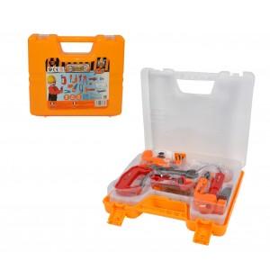 Playset valigetta degli attrezzi 363669 CIGIOKI bricolage con 15 accessori