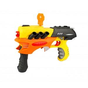 Image of Fucile giocattolo AIR SPORT GUN 281567 con dardi morbidi e bersaglio inclusi 8435524503478