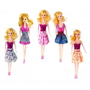 Bambola alla moda BELLE TOP STYLE 305713 ricca di accessori vari colori