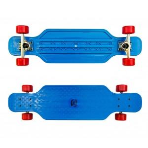 Skateboard sportivo antiscivolo in ABS 515654 COLORI FLUO cuscinetti ABEC 7