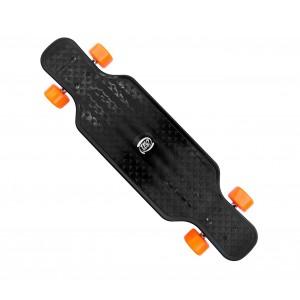 Image of Skateboard antiscivolo in ABS 515654 COLORI FLUO cuscinetti ABEC 7 80 cm 8435524503652
