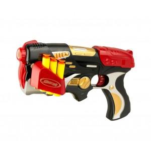 Fucile giocattolo NERF LASER CIGIOKI con 6 dardi morbidi inclusi