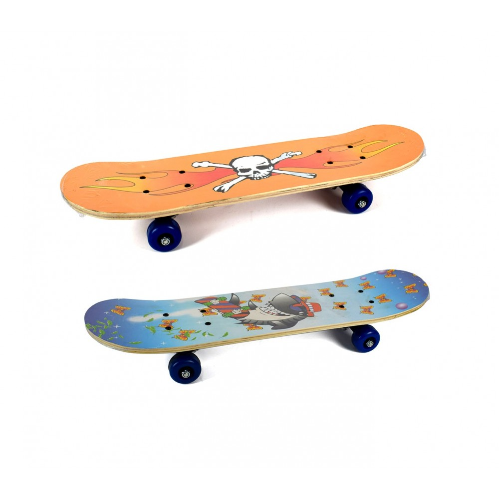 Skateboard sportivo 122655 JUMP STYLE 60 x 20 cm pedana in legno