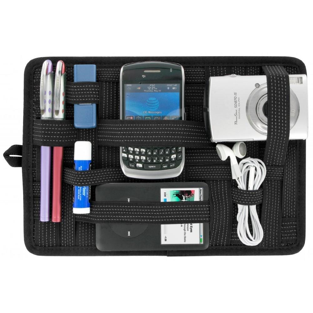 Organizzatore con molle per borsa porta oggetti salva spazio con elastici