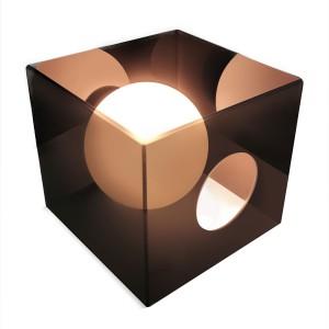 Image of Lampada di design De+light Mark Hygge moderna quadrata in acrilico lucido 8012438796716