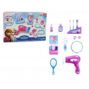 Playset accessori di bellezza 8713 DISNEY FROZEN con 14 accessori