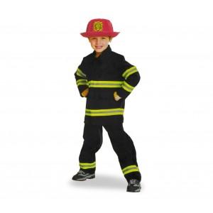 Costume carnevale da bambino VIGILE DEL FUOCO 360190 con elmetto incluso