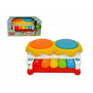 Gioco interattivo PIANOLA CIGIOKI 341117 prima infanzia luci e suoni