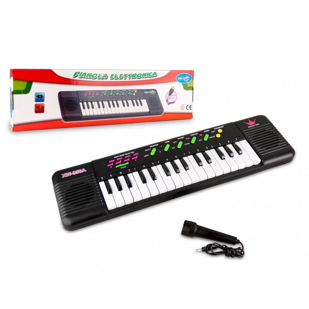 Tastiera giocattolo con microfono 371466 CIGIOKI 32 tasti con 8 melodie