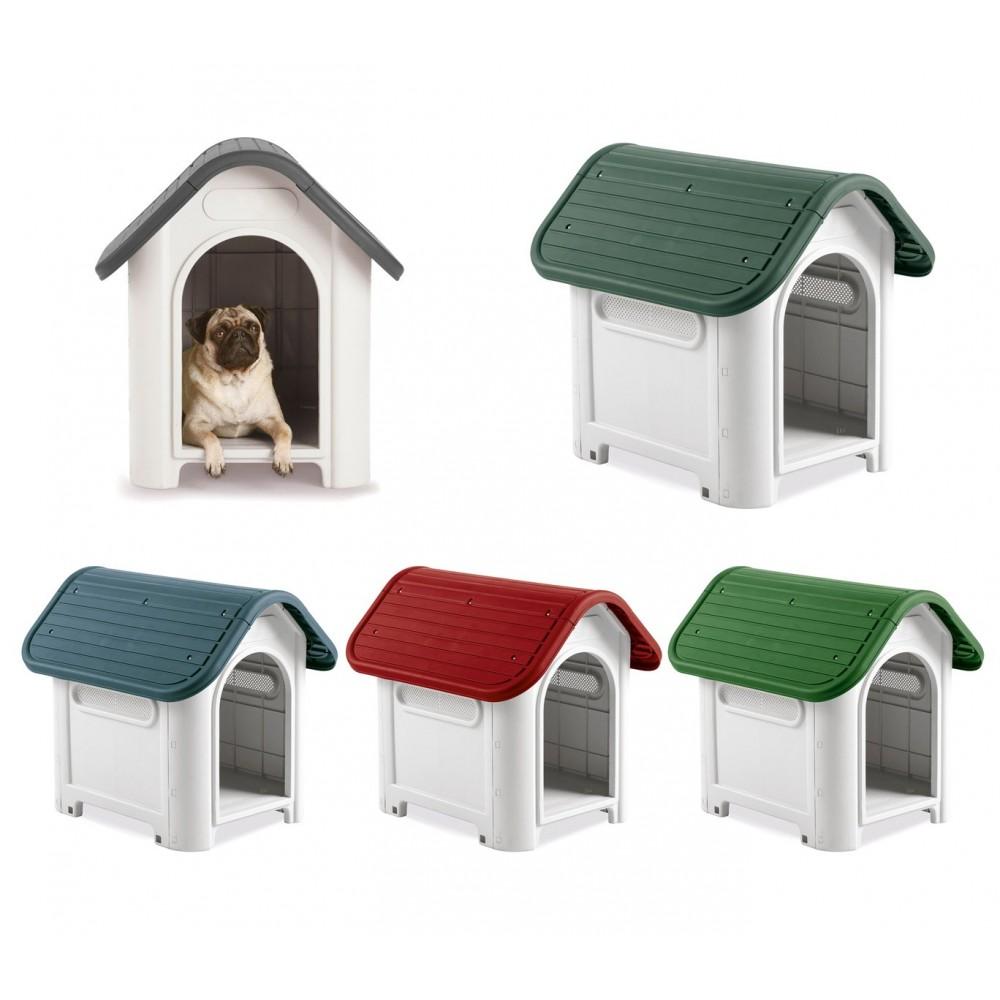 Cuccia casetta per cani PROLABZOO 4566 con prese d'aria 59.2 x 66 x 63 cm