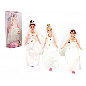Bambola MAGNIFICA SPOSA 223246 completa di accessori e velo