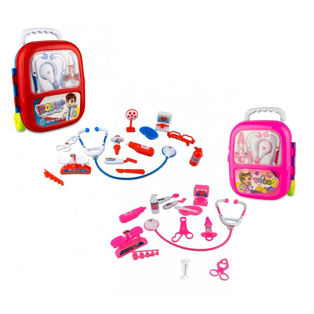 Playset dottore 363751 TROLLEY CIGIOKI include 13 fantastici accessori