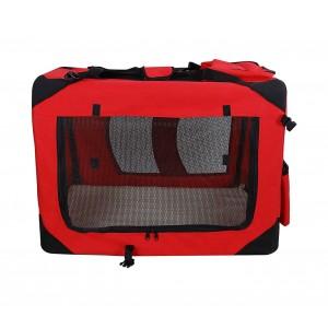 Image of Trasportino animali PROLABZOO 4564 pieghevole con tappetino lavabile 8435524508954