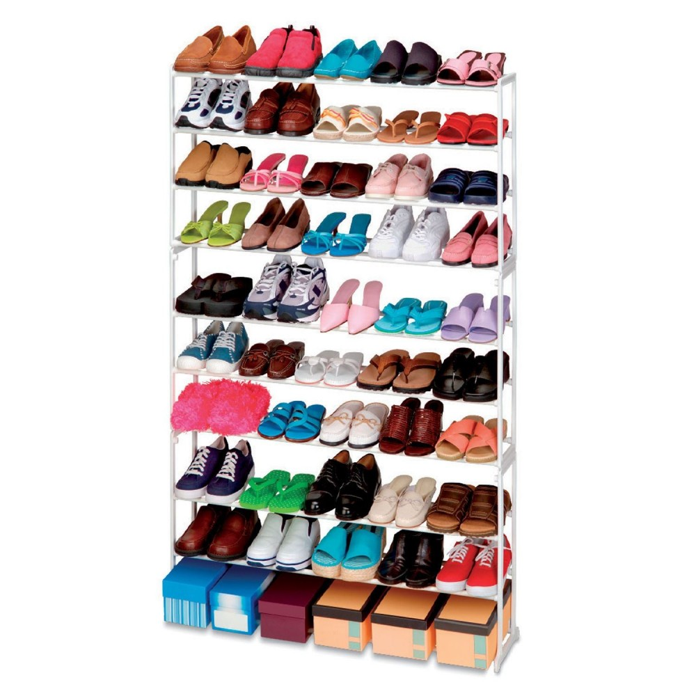 Scarpiera shoes rack amazing 50 paia nuovo salvaspazio organizer ripostiglio