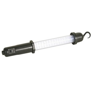 Image of Luminosa lampada da lavoro a 60 LED auto per officine con gancio orientabile 8045691093094