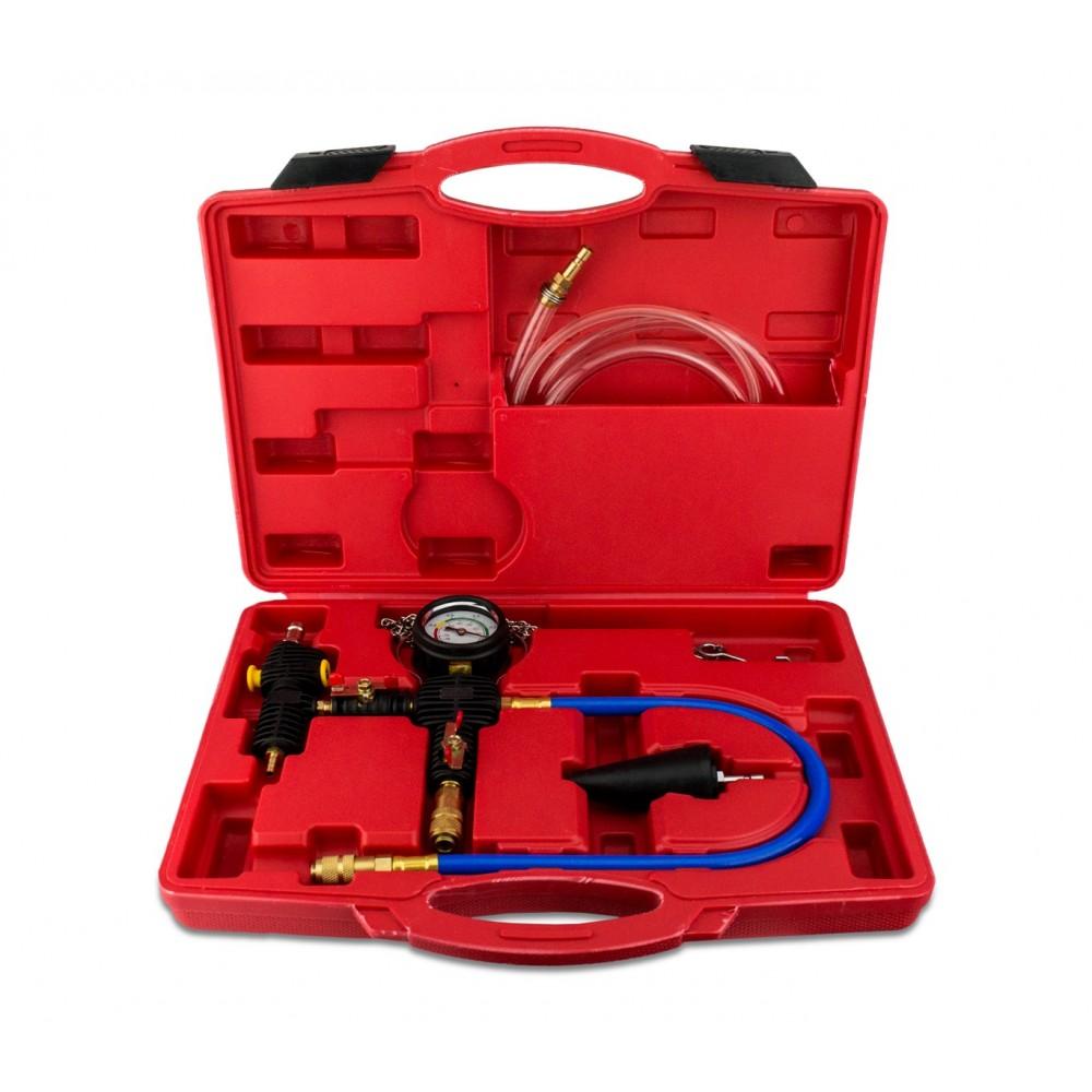 kit manutenzione tester radiatore FUBUCA 4509 con spurgo a vuoto e ricarica
