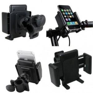 Image of Supporto universale smartphone per manubrio bicicletta moto regolabile 8435524508251