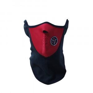 Image of Maschera protettiva antivento in pile antifreddo per sport moto bicicletta copri collo e orecchie 8034537297451