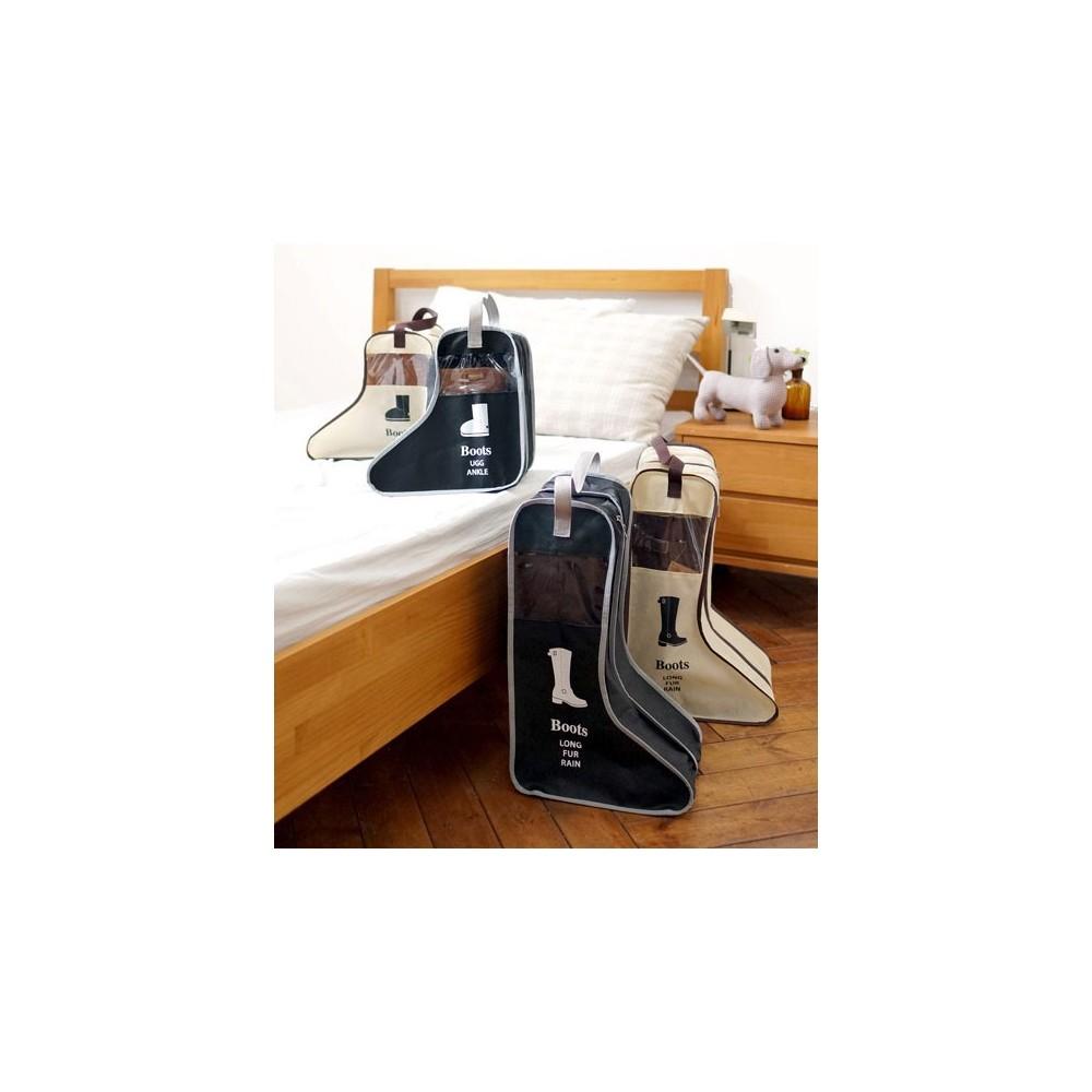 Porta stivali organizer da viaggio per stivale alto o basso salvaspazio