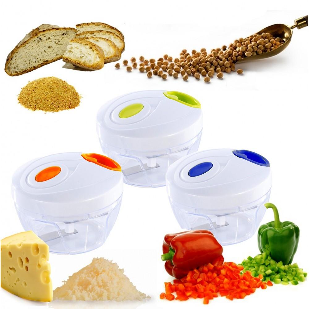 Tritatutto manuale a corda EN-20604 mescola trita verdure frutta formaggio frutta secca