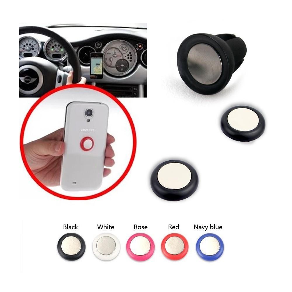 Supporto clip magnetica per smartphone e dispositivi elettronici da auto