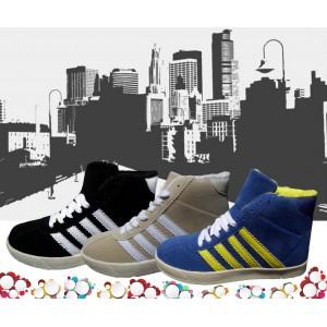 Scarpe sneaker donna modello CITY con punta tonda e suola antiscivolo scarpa da ginnastica