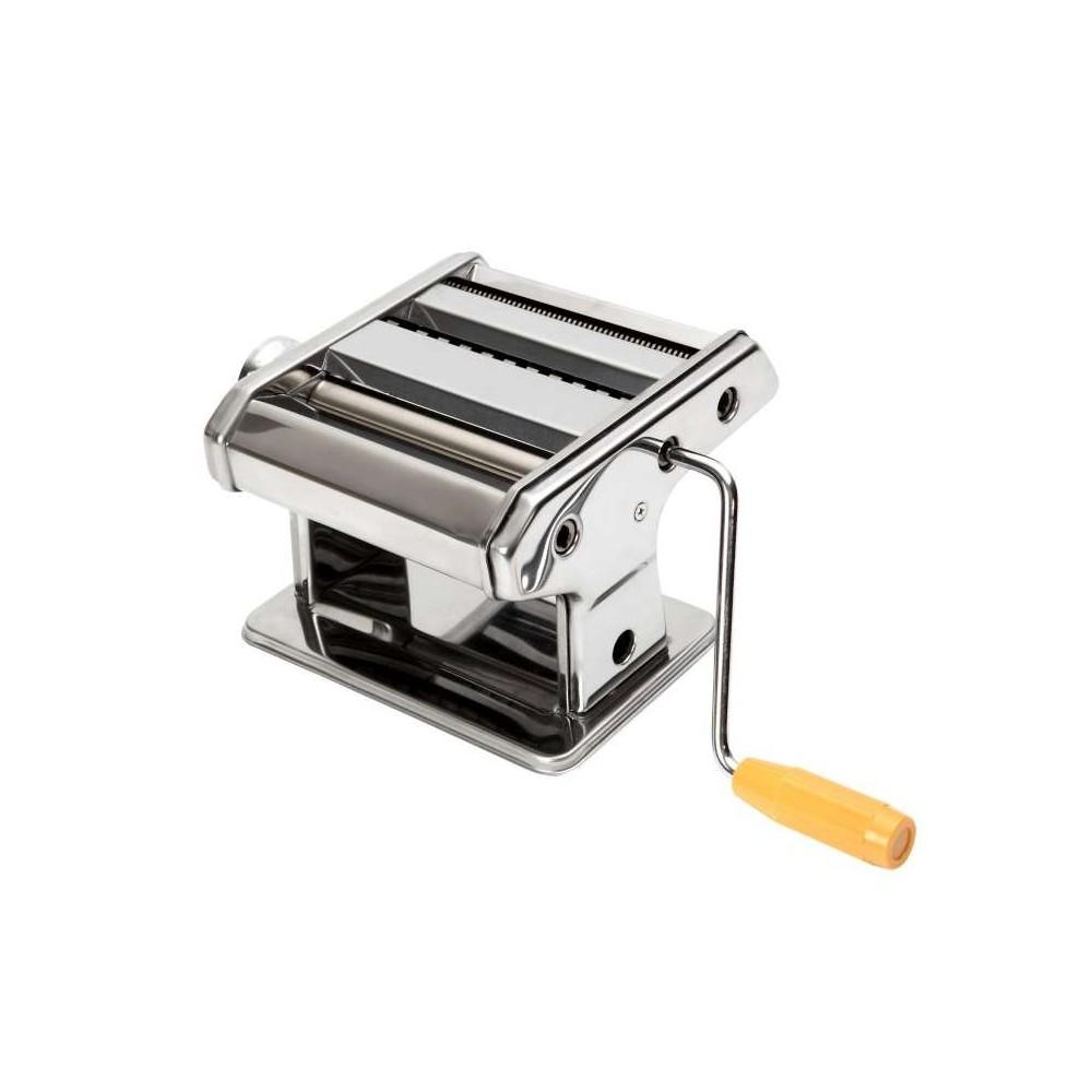 Macchina per preparare pasta fresca a mano con manovella e morsetto