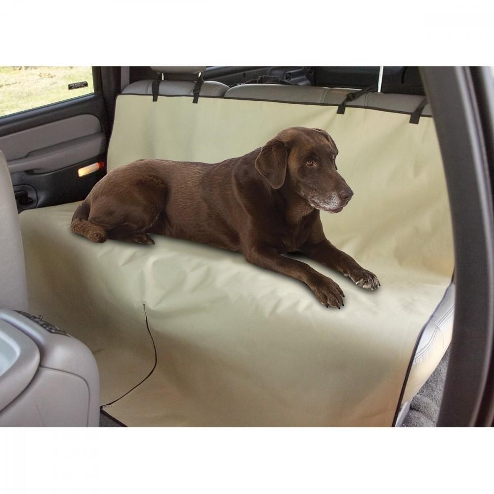 Telo auto per cani copri sedili impermeabile protezione coprisedile vari colori Beige MEDIA WAVE store