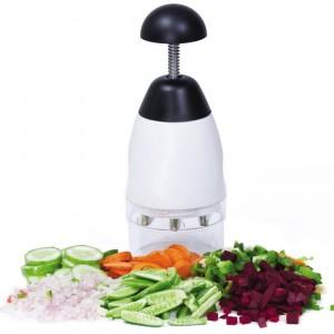 Image of Tritatutto manuale multiuso trita verdura e ortaggi con lame rotanti SLAP 6904587962550