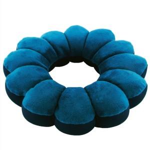 Cuscino total relax cuscino poggiatesta da viaggio in microsfere ergonomico cushion