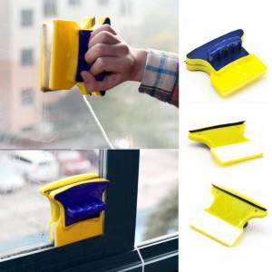 Lavavetri magnetico doppia spazzola e azione pulisci su entrambi i lati