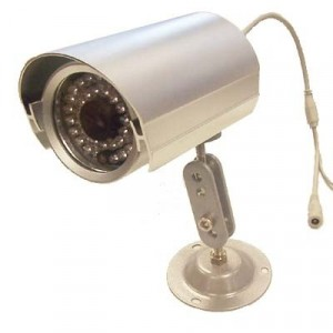 Telecamera di sorveglianza 36 led ccd 6 mm a tenuta stagna ideale da esterni