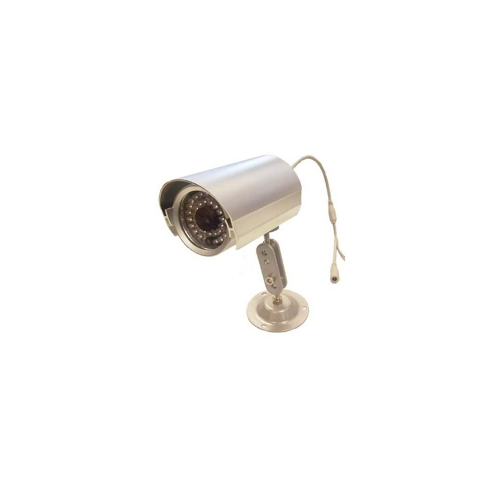 Telecamera di sorveglianza 36 led ccd 6 mm sensore 1/3 a tenuta stagna
