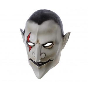 Maschera travestimento carnevale 441616 VAMPIRO HORROR misura unica