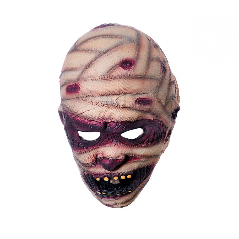 Maschera travestimento carnevale 441629 MUMMIA misura unica