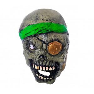 Maschera travestimento carnevale 441630 ZOMBIE PIRATA misura unica