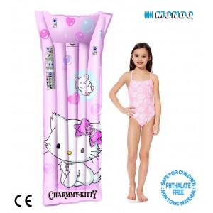 Materassino gonfiabile Charmmy Kitty rosa per piscina mare