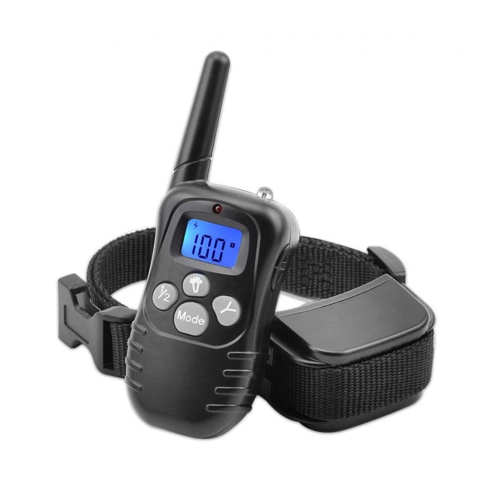 Collare per addestramento dei cani a vibrazione 4565 display luminoso