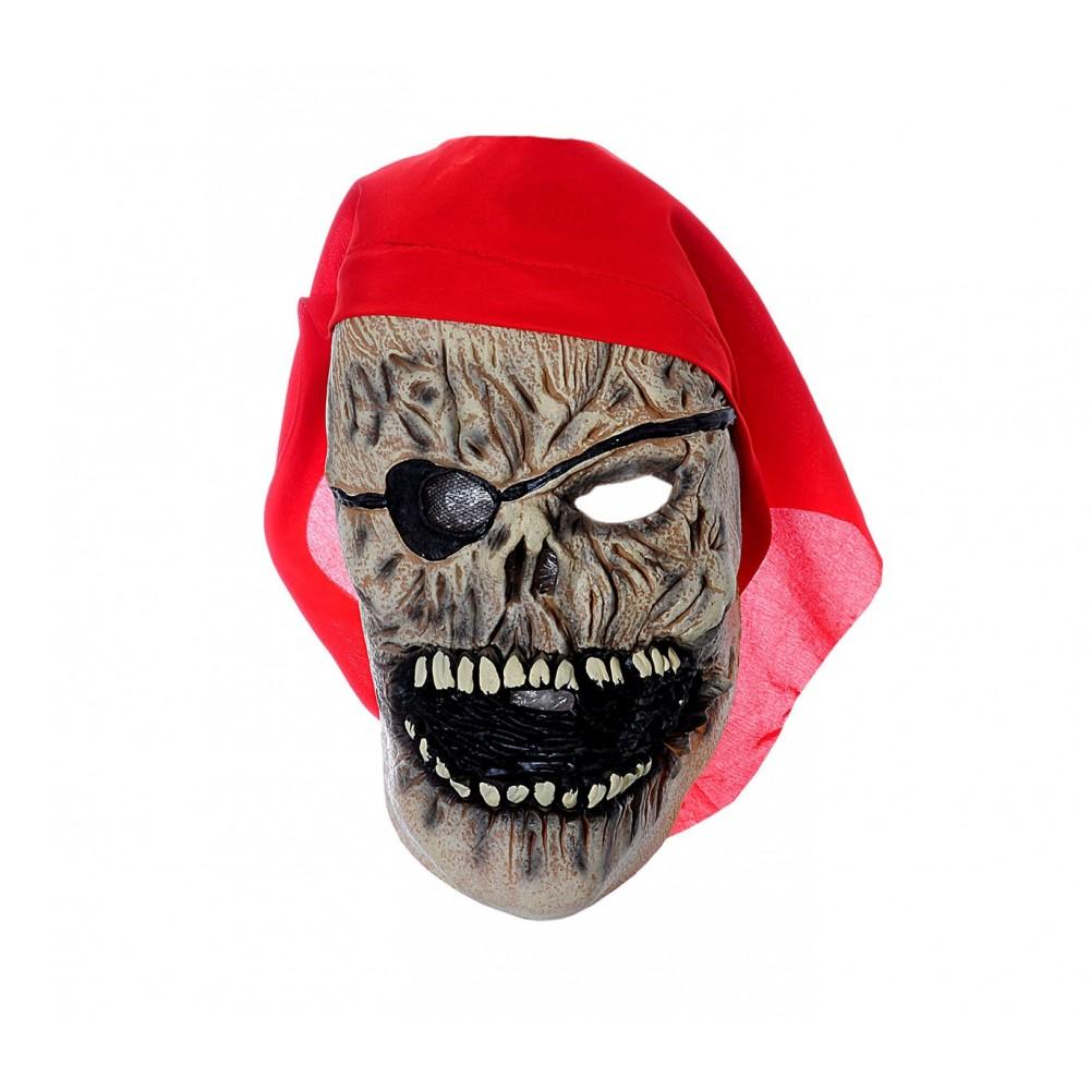 Maschera da Pirata Zombie con bandana 441621