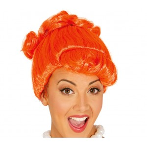 Parrucca da donna 045657 CAVERNICOLA ideale per CARNEVALE e feste a tema