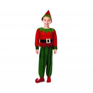 Costume carnevale per bambino FOLLETTO 538087 con cappello incluso