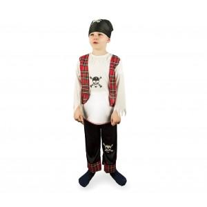 Costume carnevale da PIRATA con bandana inclusa 227707