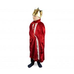 Costume carnevale da RE con corona inclusa 368721