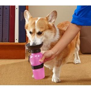 Borraccia portatile per cani e animali domestici SQUEAZY 028410 con cinghia