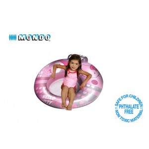 Poltrona sedia gonfiabile Hello Kitty per mare o piscina 104 cm salvagente rosa Linea Mondo