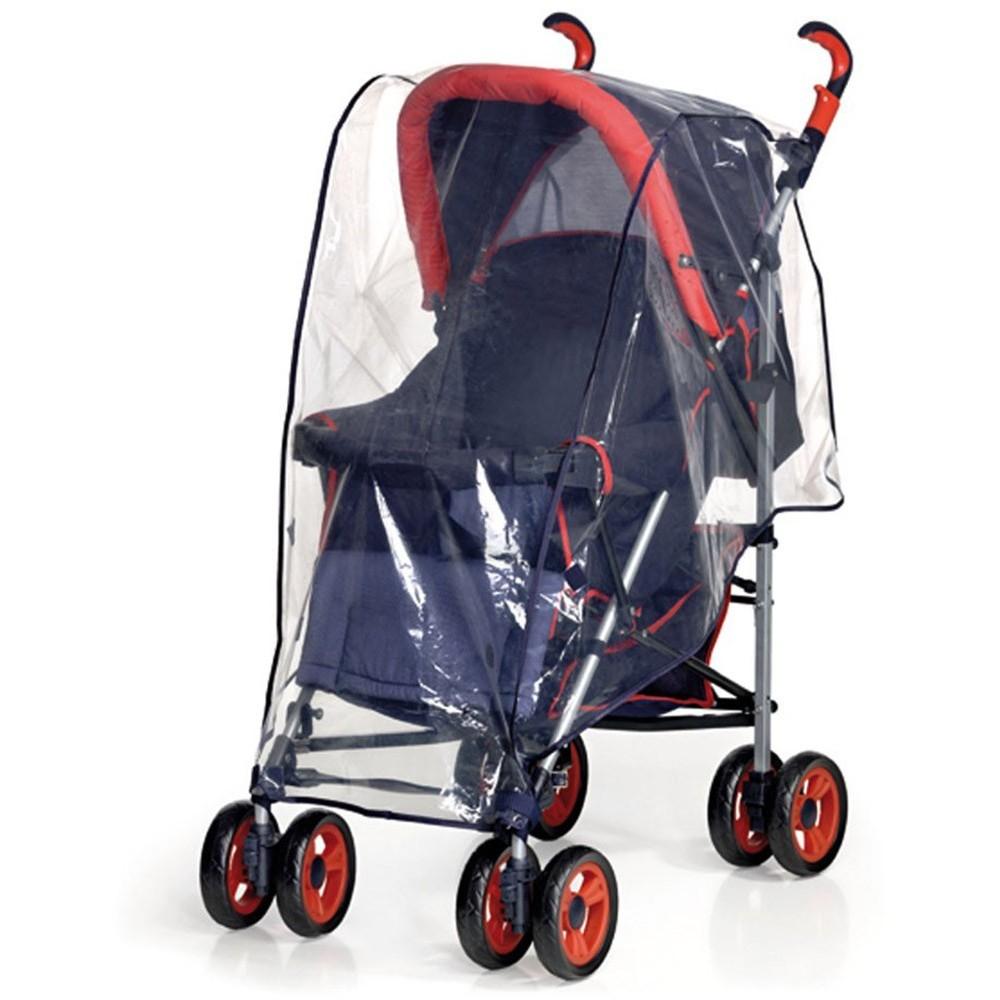 Parapioggia da passeggino universale protegge i bambini dalla pioggia 72x73 cm