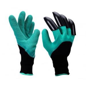Image of Guanti per giardinaggio con artigli in plastica ABS 708004 per scavare 8435524509937
