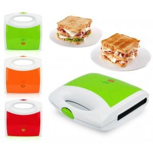 619807 Tostiera elettrica 750 w Capriccio doppia piastra per toast e panini